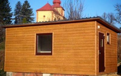 Záhradný domček Valkovce