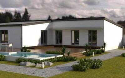 Visualization Family house