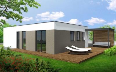 Visualization Family house 3