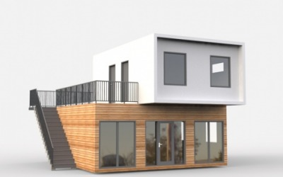 Visualization Family house 8