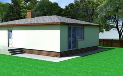 Visualization Family house 7