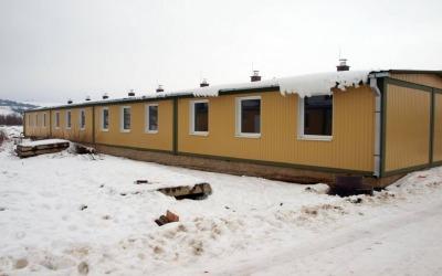 Apartment block Kapušany
