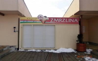 Ice cream stand Kapušany