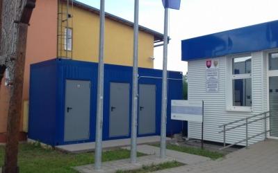 Sociálne zariadenie – Colný úrad Michalovce